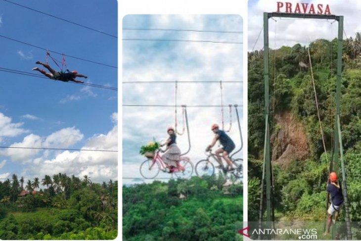 Liburan Lebaran di Ubud miliki wahana