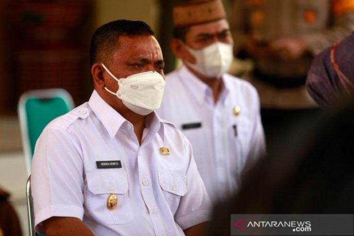 Pemkab Gorontalo tingkatkan penerapan prokes di pasar tradisional