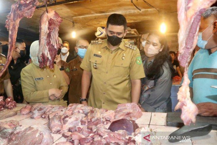 H-2 Lebaran, Harga daging sapi tembus Rp150 ribu/kg