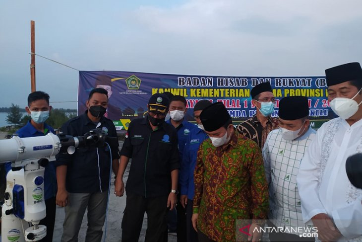 Hilal di Bengkulu belum terlihat, Idul Fitri 1442 Hijriah jatuh pada 13 Mei