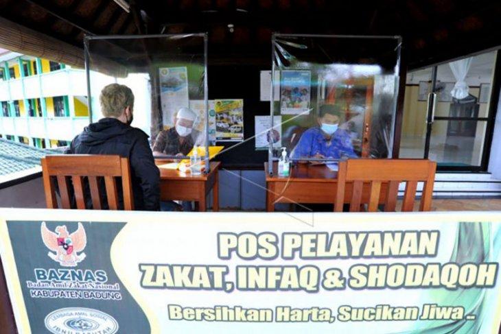 Penerapan protokol kesehatan pada pembayaran zakat di Bali