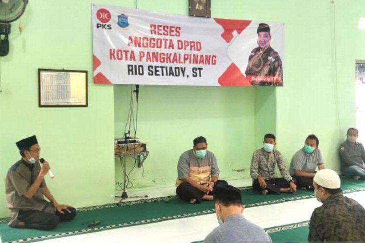 DPRD Pangkalpinang tampung keluhan masyarakat melalui reses
