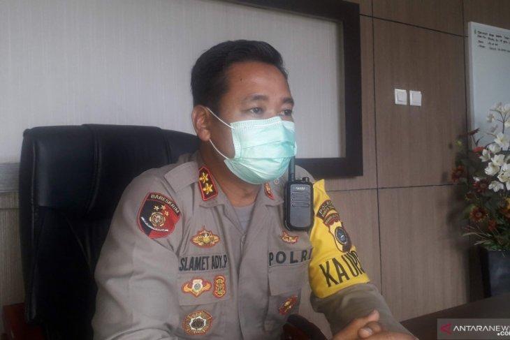 Polres Bangka Tengah imbau masyarakat tidak berkerumun