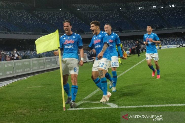 Kalahkan Udinese, Napoli ke posisi kedua Liga Italia