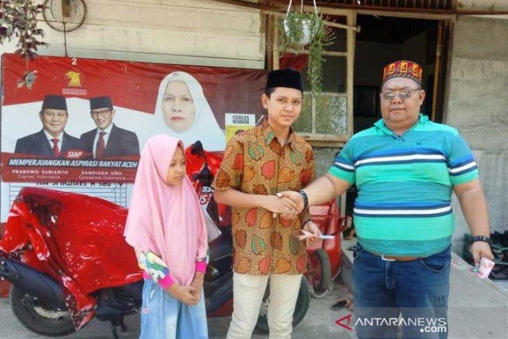 Memasuki Idul Fitri, IKNR Aceh Barat santuni yatim