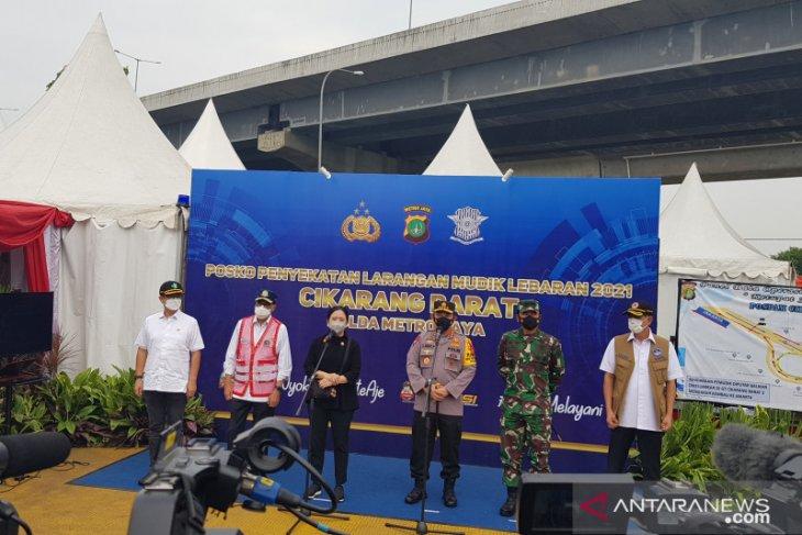 Ketua DPR RI apresiasi kinerja aparat gabungan penjaga pos penyekatan mudik