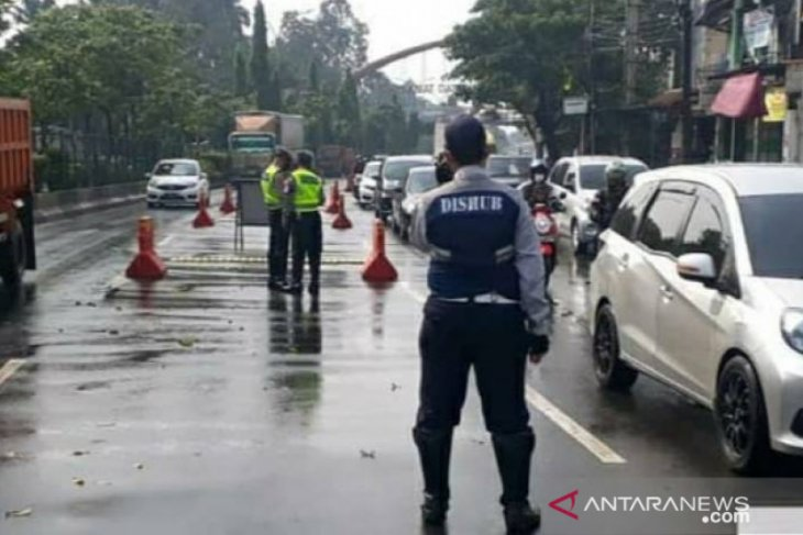 432 kendaraan terjaring pos penyekatan larangan mudik di Kota Tangerang