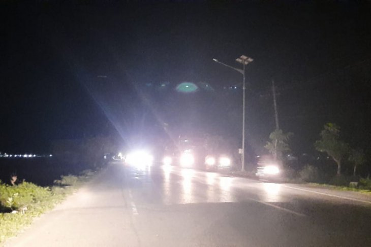 Arus lalu lintas padat di Banda Aceh, meski pawai takbir ditiadakan