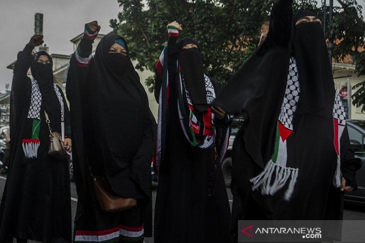Aksi untuk Palestina di Bandung