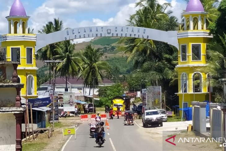 Pintu perbatasan di Gorontalo Utara kondusif