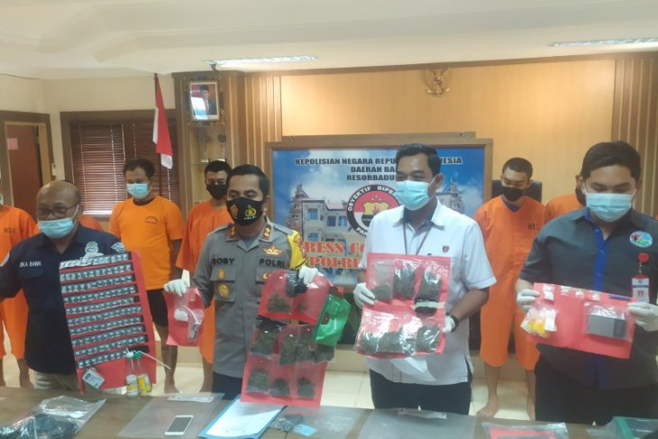 Polres Badung gagalkan peredaran narkoba jaringan lintas provinsi