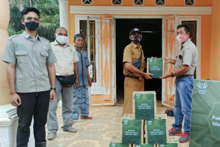 Jelang Idul Fitri, Asian Agri Wilayah Sumatera Utara bagikan ribuan sembako