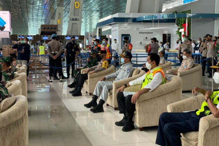 Direktur MRTI Jasa Raharja dampingi Kapolri pantau Bandara Soekarno Hatta