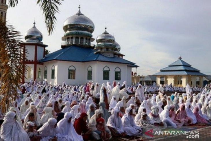 Ribuan umat Islam di Nagan Raya sudah rayakan Hari Raya Idul Fitri