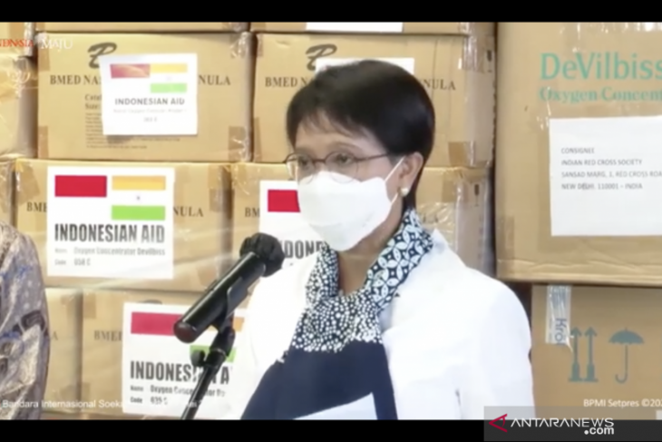 Indonesia salurkan bantuan 200 alat konsentrator oksigen  untuk India