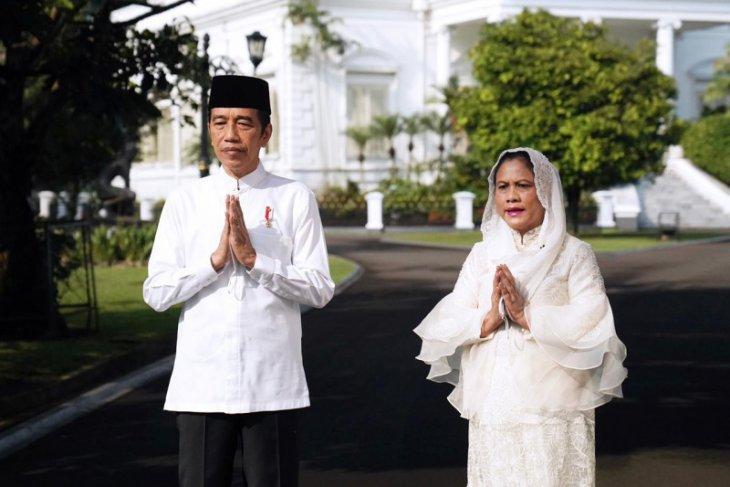Presiden Jokowi dan Ibu Negara Iriana akan Shalat Idul Fitri di Istana Bogor