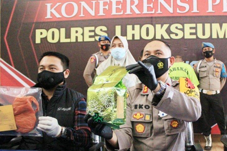 Jadi kurir narkoba, dua warga Aceh Timur ditangkap di Lhokseumawe