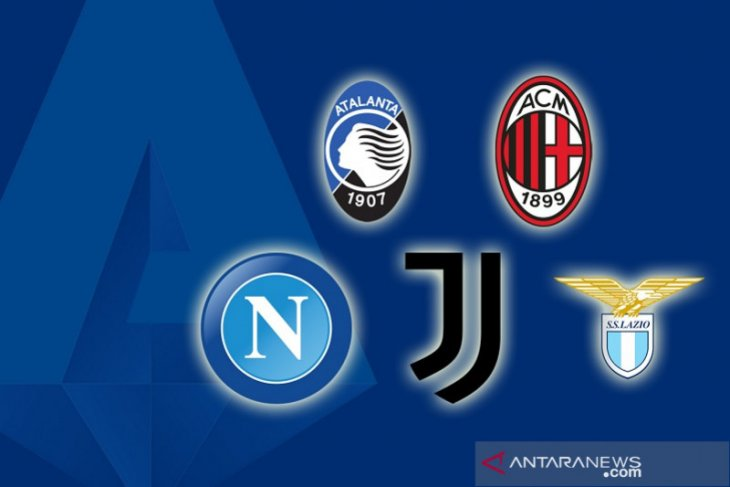 Klasemen Liga Italia: Persaingan empat besar masih ketat