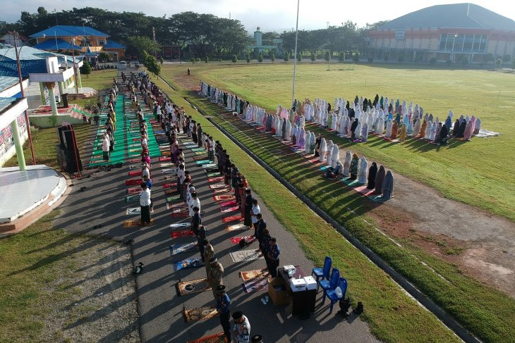 Shalat Id di Kabupaten Gorontalo terapkan protokol kesehatan