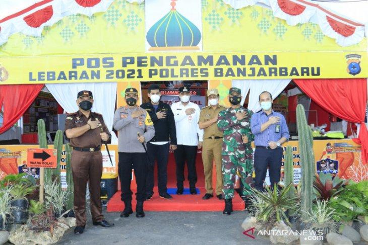 Wali Kota bersama Forkopimda kunjungi Pos Pengamanan Lebaran