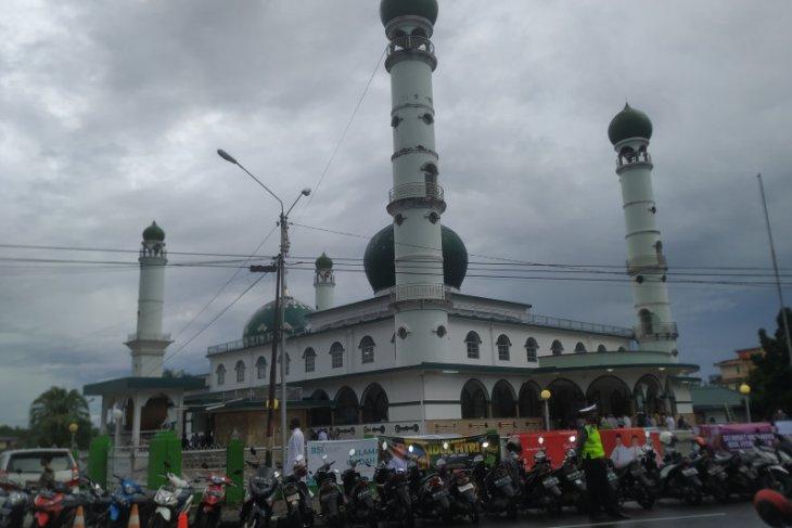 Tim gabungan keamanan Babel kawal ketat Shalat Id di masjid