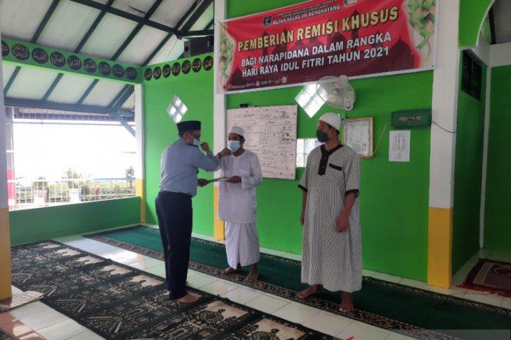 42 warga binaan Rutan Kelas IIB Bengkayang dapat remisi Idul Fitri 1442 H