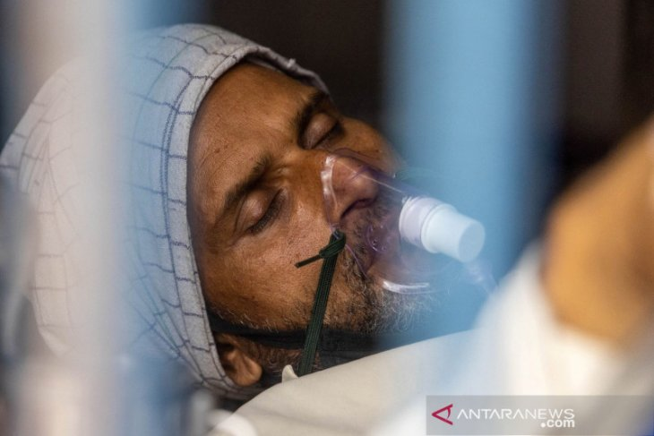 Kasus COVID India lampaui 24 juta, saat  varian virus menyebar ke dunia