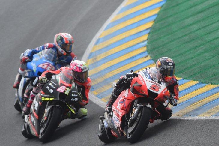 Johann Zarco tegaskan kecepatan Ducati dalam sesi latihan kedua GP Prancis