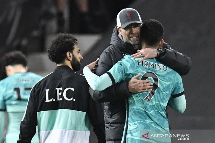 Klopp tak pernah ragukan mental dan  karakter Liverpool sepanjang musim