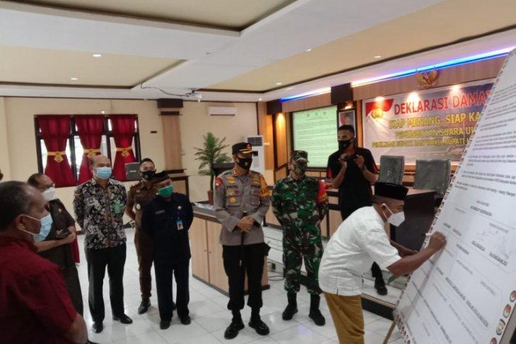 Paslon JOS gugat hasil PSU Pilkada Kabupaten Halmahera Utara