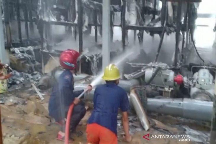 Wellpad AA SMGP di Sibanggor Tonga kebakaran