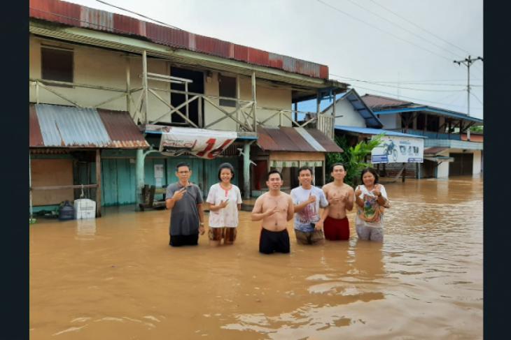 80 rumah warga Badau batas RI-Malaysia terdampak banjir
