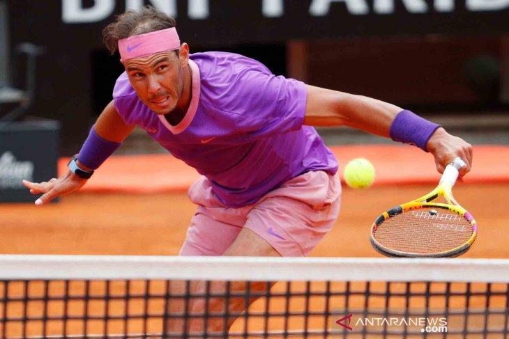 Nadal rebut gelar ke-10 Italian Open setelah tundukan Djokovic