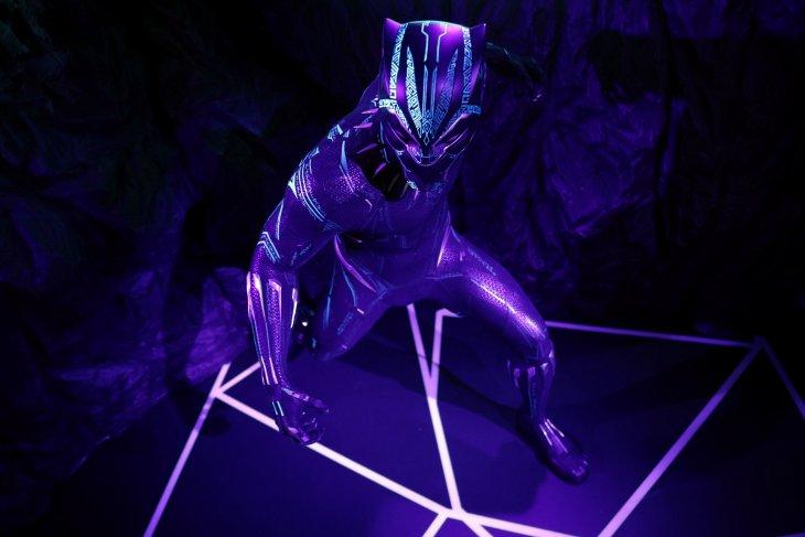 Black Panther koleksi terbaru di pembukaan kembali Museum Madame Tussauds