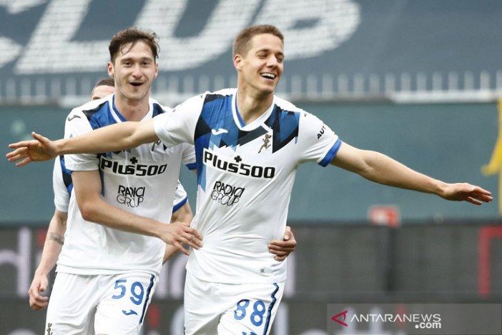 Atalanta kunci tiket ke Liga Champions selepas redam perlawanan Genoa