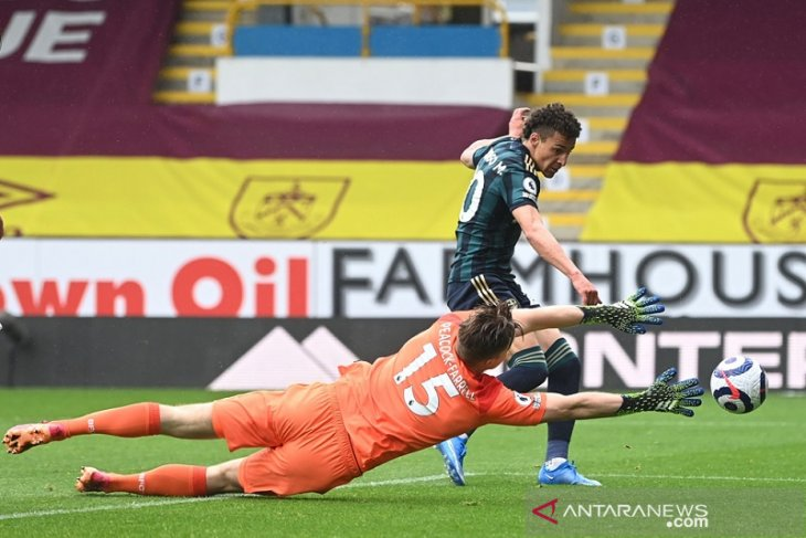 Rodrigo Moreno dua gol, Leeds pukul  Burnley 4-0