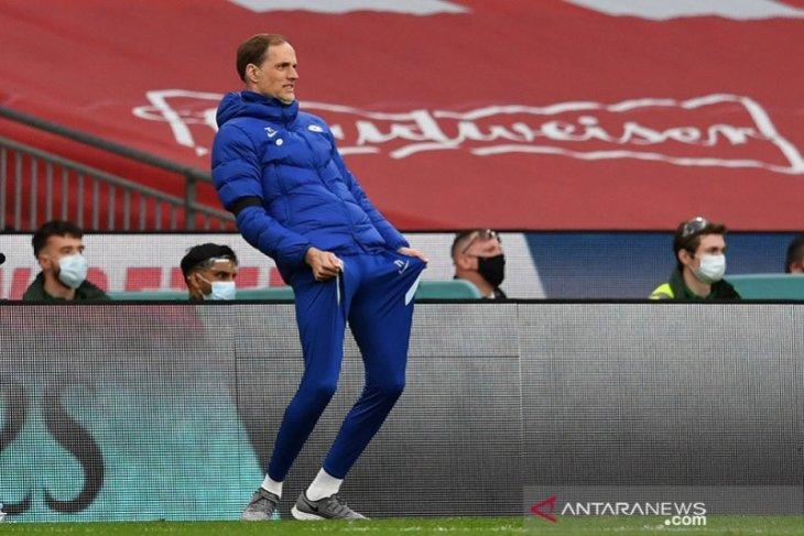 Tuchel perdana dampingi Chelsea di depan suporter saat final Piala FA