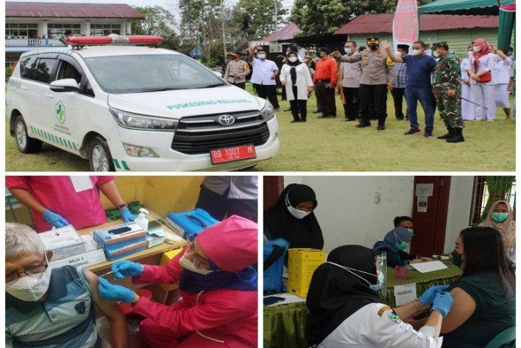 Vaksinasi mobile massal di Tapteng capai 90,20 persen, Bupati: Gerak cepat untuk rakyat
