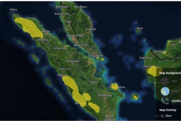 Siaga bencana hydrometeorology di Sumatera Utara