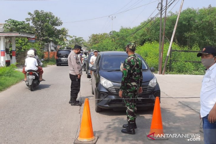 Satgas COVID-19 Kabupaten Tangerang lakukan penyekatan di kawasan objek wisata