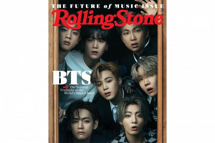 BTS jadi musisi Asia pertama yang jadi sampul majalah Rolling Stone
