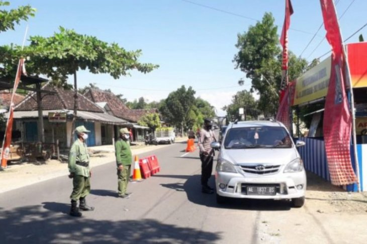 Polres Madiun perketat penyekatan antisipasi mobilitas warga usai lebaran