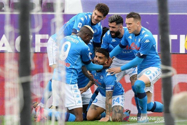 Napoli kembali depak Juve dari empat besar klasemen Liga Italia