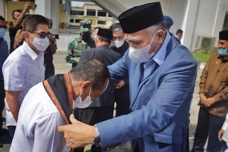 Jemput Menteri Investasi, Gubernur Aceh sampaikan sejumlah capaian