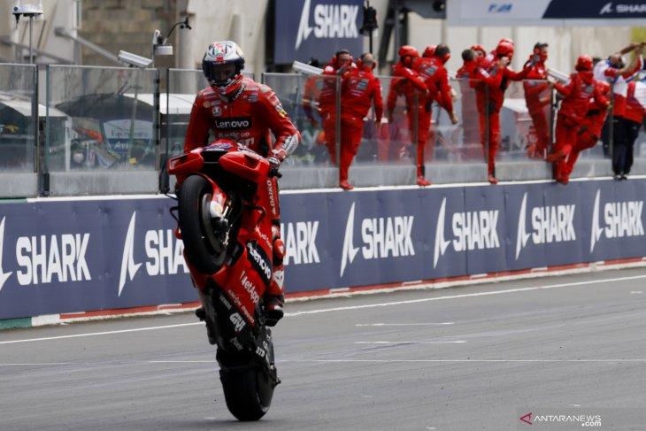 MotoGP: Miller juarai GP Prancis di tengah cuaca
