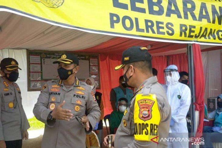 Polda Bengkulu pantau pos perbatasan Rejang Lebong-Lubuk Linggau