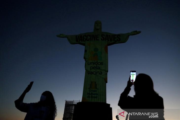 Brazil catat 48.013  kasus baru COVID-19, 1.334 kematian
