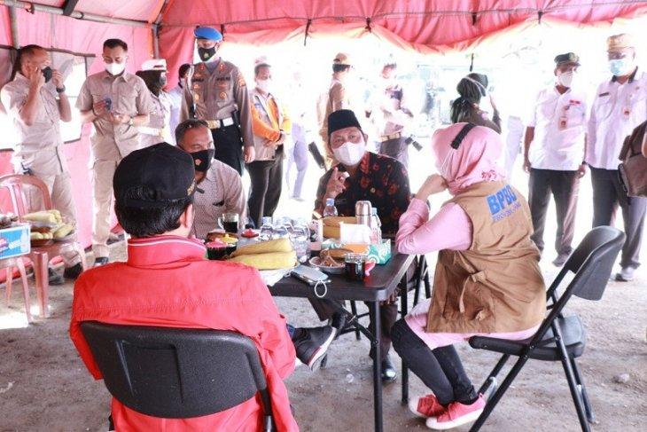 Penjabat Gubernur Jambi tinjau Posko Penyekatan Lintas Suban Tanjabbar