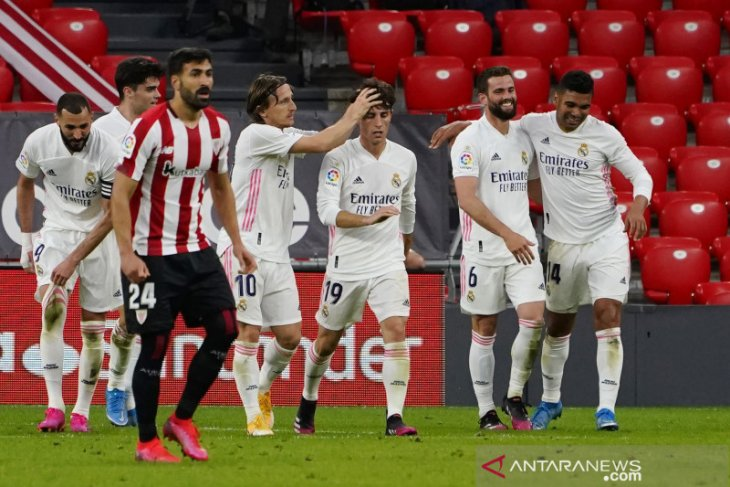 Real Madrid menang atas Bilbao, namun tetap bertarung hingga pekan terakhir