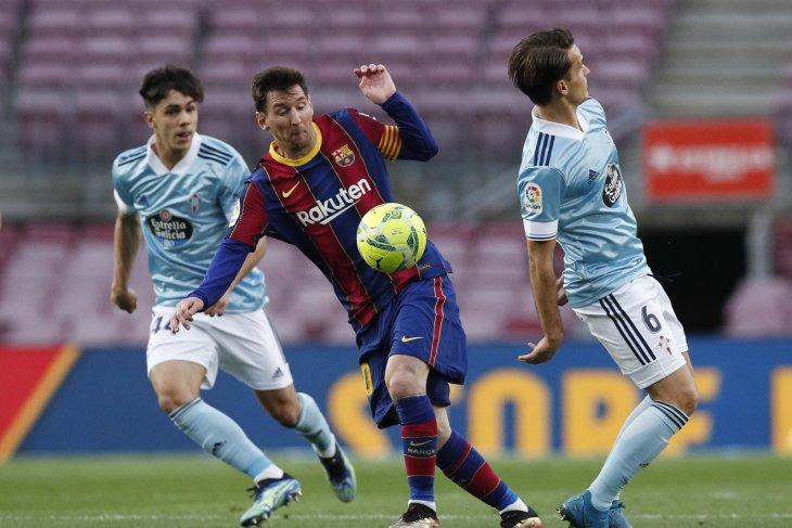 Barcelona kalah dari Celta Vigo, tersingkir dari perburuan gelar